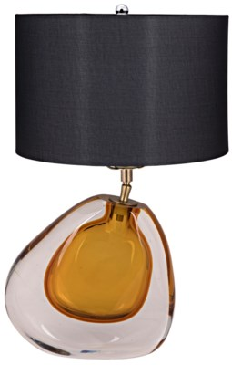 Obtuse Table Lamp with Shade