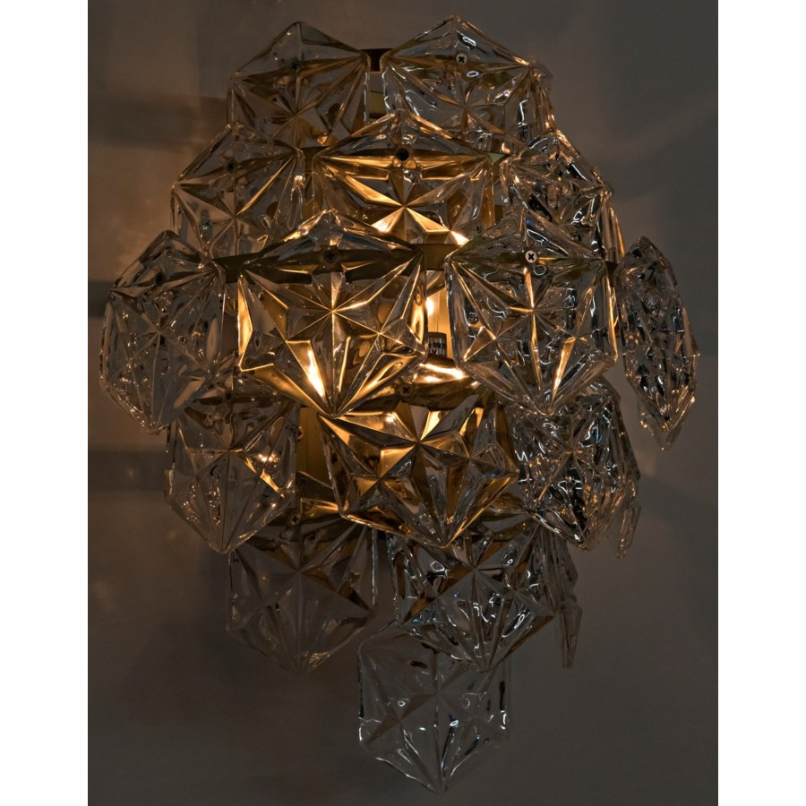 Neive Sconce, Antique Brass