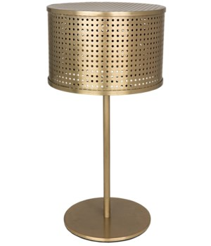 Leila Lamp, Antique Brass