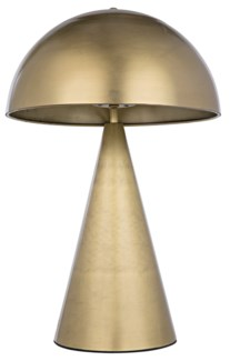 Skuba Table Lamp, Antique Brass