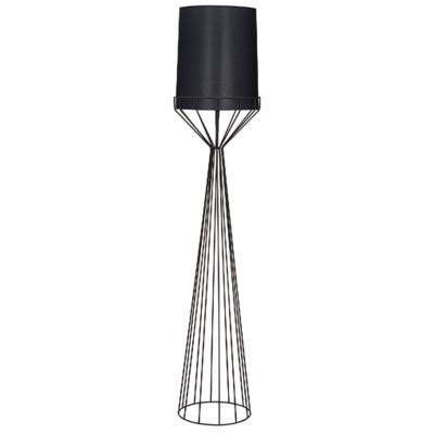 Portal Floor Lamp, A, Black Metal