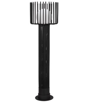 Lucis Floor Lamp, Black Metal