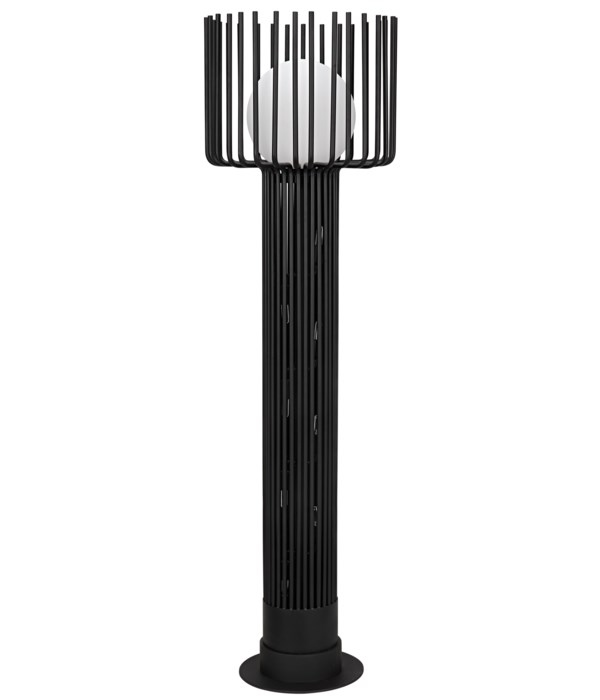 Lucis Floor Lamp, Black Steel