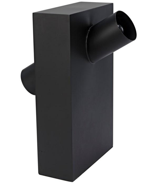 Topo Lamp, Black Steel