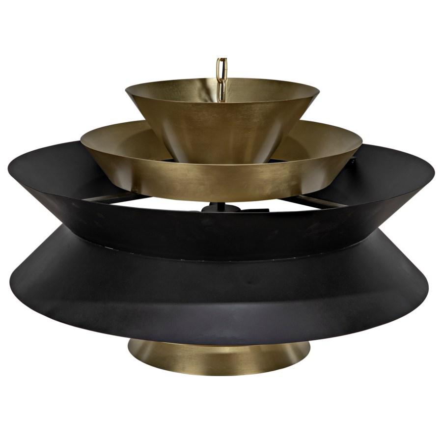 Arion Pendant, Metal w/Brass Finish