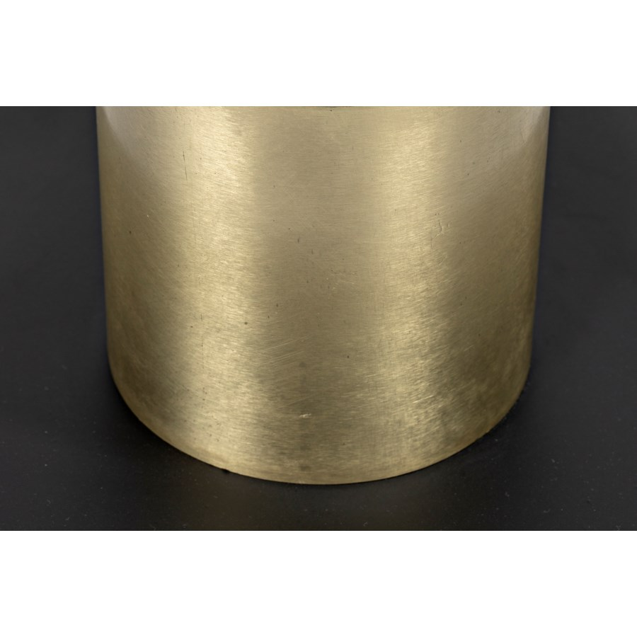 Continental Table Lamp, Metal w/Brass Finish Accent
