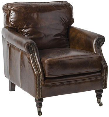 916 Club Chair, Vintage Leather