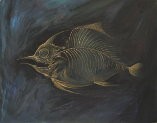 Golden Fish Bone