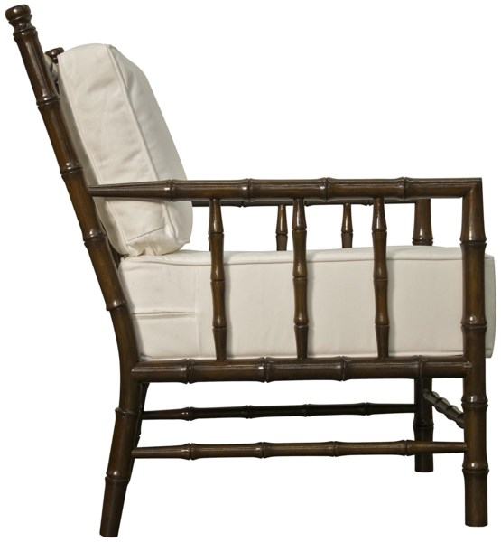 Bamboo Relax Chair, Distressed Brown
