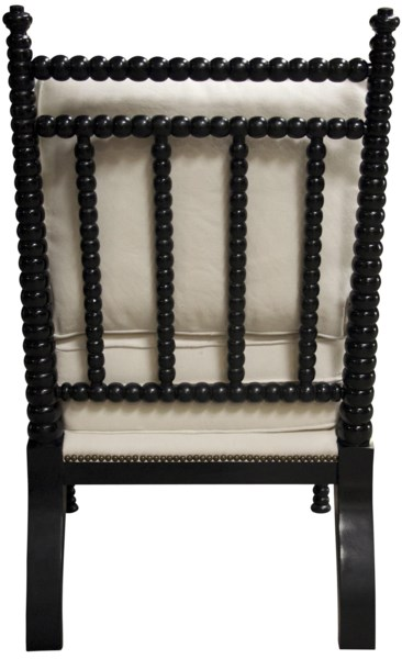 QS Abacus Relax Chair, Distressed Black
