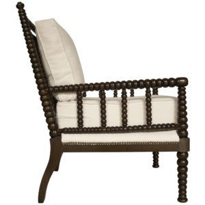 Abacus Relax Chair, Distressed Brown