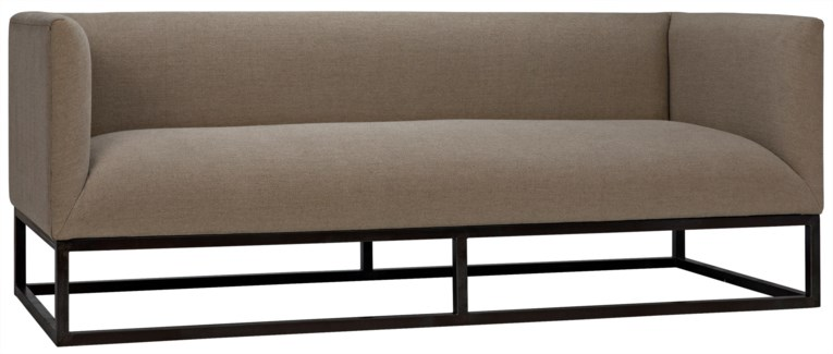 Futura Sofa with Metal Base