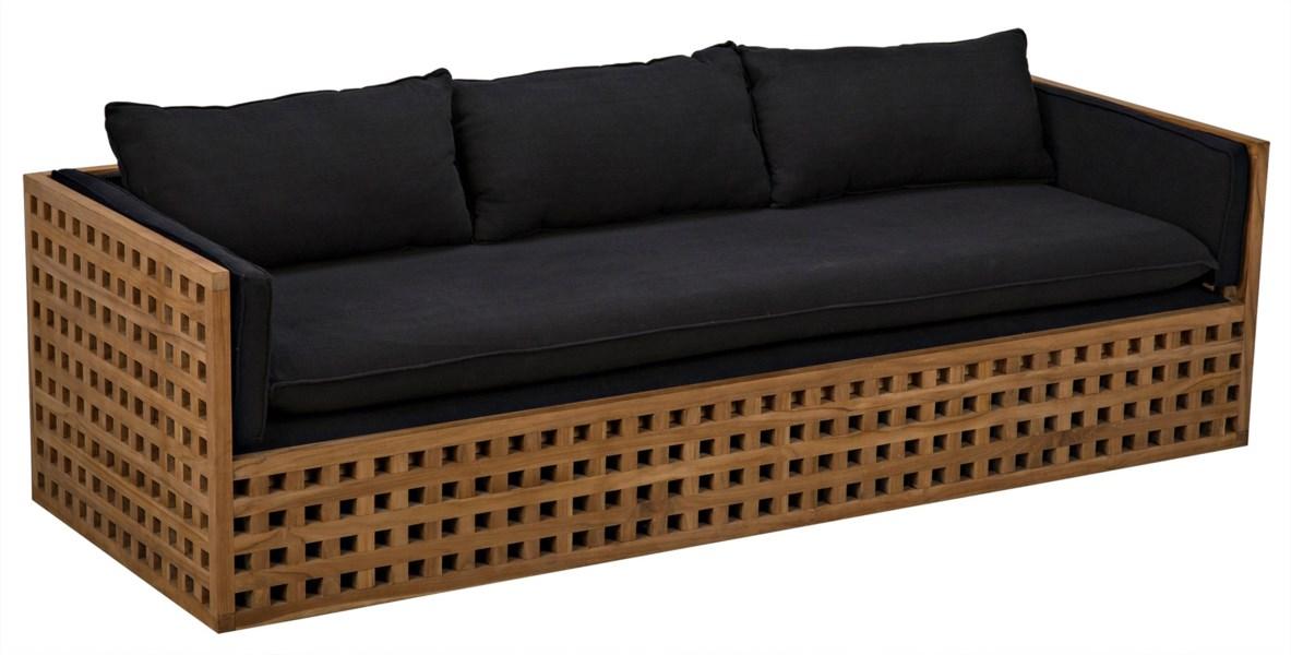 Quinnton Sofa, Teak