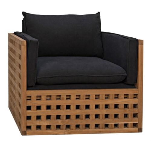 Quinnton Chair, Teak