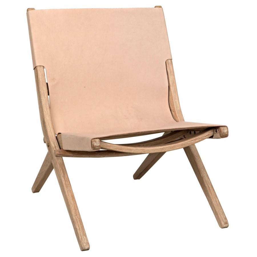 Caedo Chair, Distressed Mindi w/Leather
