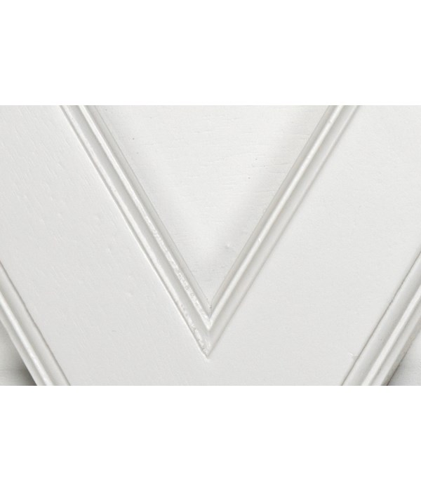 (SW) Solid White finish (wood)