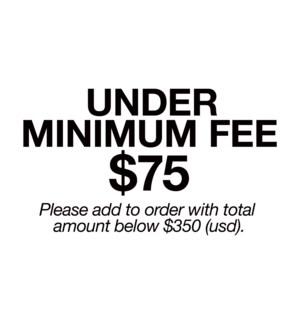 Under Minimum Fee