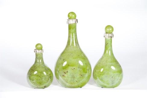 Bottle Set of 3 in Avonlea Finish