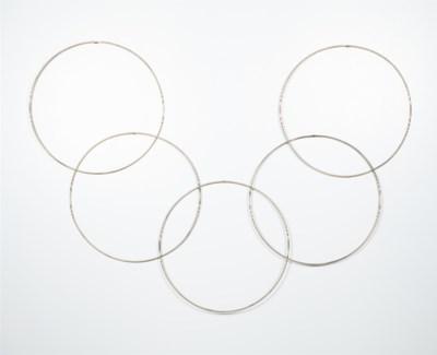 Interlocking Rings Wall Sculpture