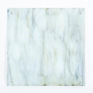 """Smoke Painted Glass Wall Art - 32"""" Square"""