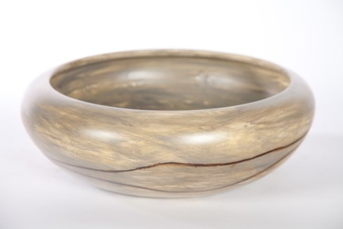 Bowl in Nazca Lines Finish