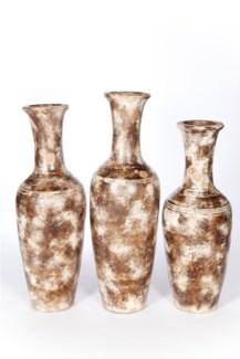 Large Floor Vase in Earthen Trail Finish