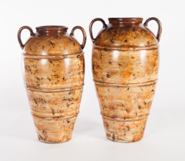 Large Jar in Scorched Trail Finish