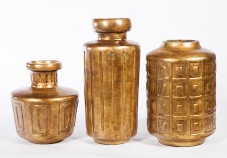 Tall Vase in Saffron