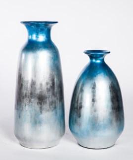 Large Vase in Silver Twilight