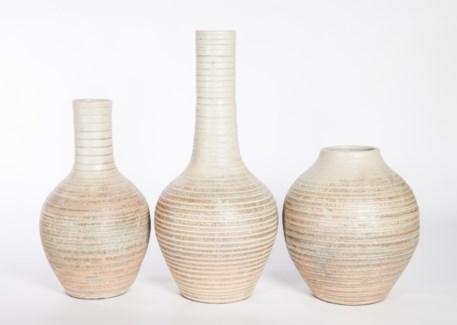 Large Table Vase in Quails Egg