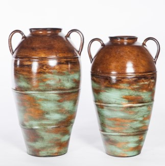 Large Jar in Autumn Teal