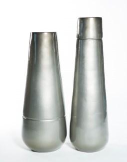 Medium Vase in Mercury