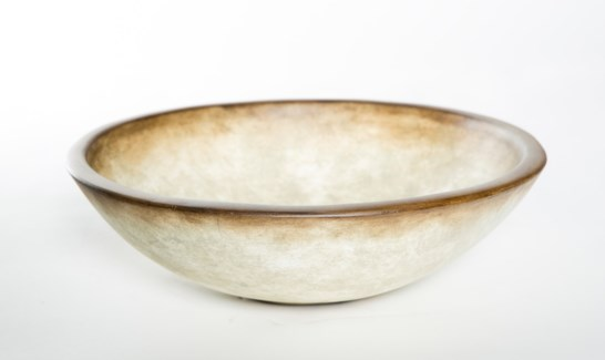 Small Bowl in Parchment