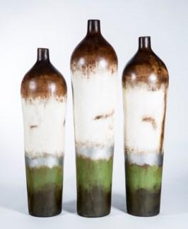 Large Tibor Floor Vase in Winnipeg Finish