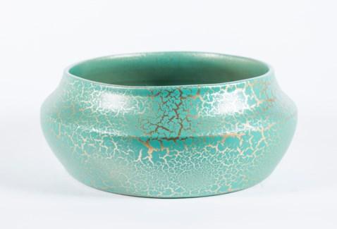 Bowl in Green Leaf Finish