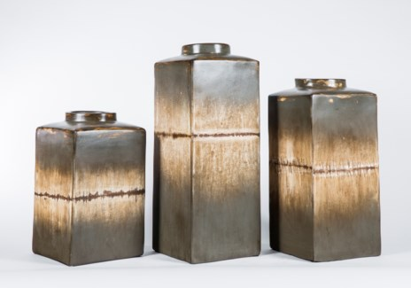 Large Square Canister in Anchor Finish