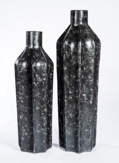 Large Floor Bottle in Cavern Finish