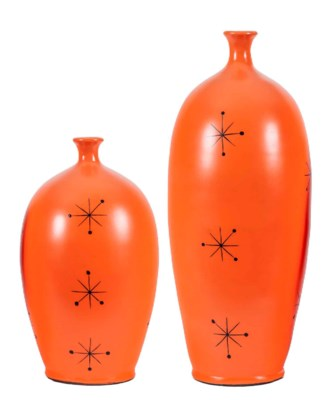 Large Allen Vase in Tangerine Dream Finish