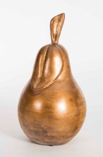 Pear Sculpture in Harvest Glory Finish