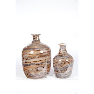 Large Bottle in Stone Court Finish