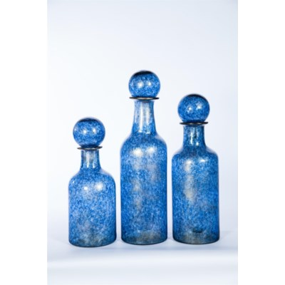 Large Bottle w/ Ball Top in Starry Night Finish