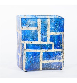 Rectangle Vase in Sapphire Boxes