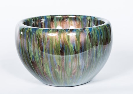 Large Bowl in Deep Forest Finish