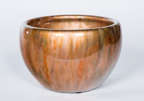 Double Sided Bowl in Copper Blaze Finish