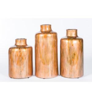 Large Urn in Copper Blaze Finish