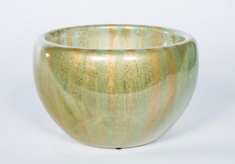 Double Sided Bowl in Palm Leaf Finish