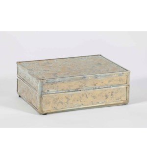 Rectangle Box in Dappled Light Finish