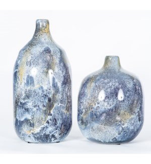 Large Talbot Vase in Supernova Finish
