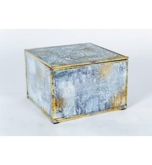 Medium Square Box in Reflections Finish