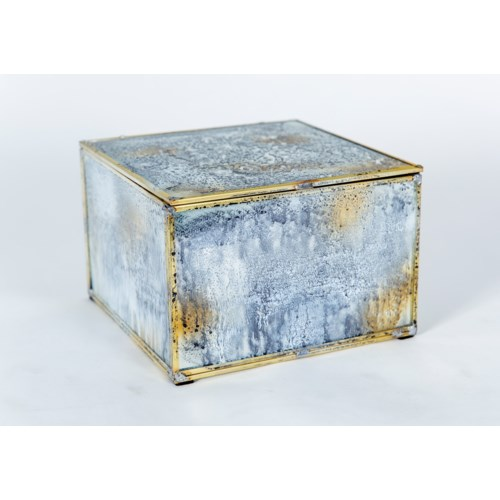 Medium Square Box in Reflections Finish